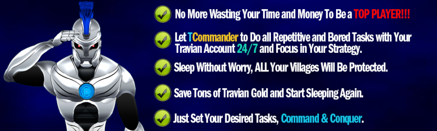 Travian Commander Bot Banner