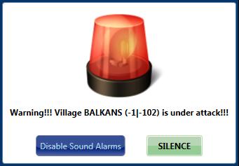 Sound Alarm Window