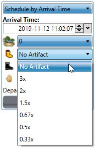 Speed Artifact options